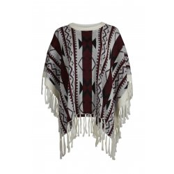 VIANDRO KNIT PONCHO - VILA CLOTHES