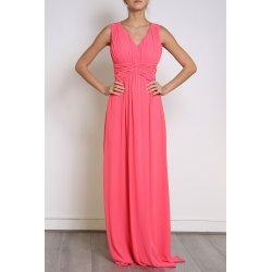 Vestido largo fruncido - Selected by AINE