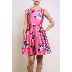 Vestido corto estampado Coral y Azul - Selected by AINE