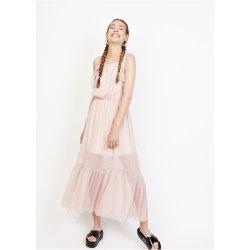 Vestido largo cuerto volante - Selected by AINE