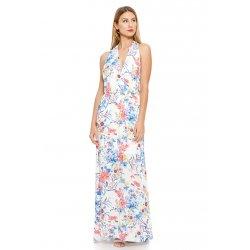 Vestido multiposicion flores - Selected by AINE