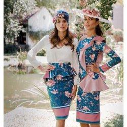 Vestido estampado volante L - Selected by AINE