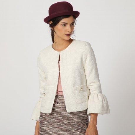 Chaqueta chanel manga volante - Selected by AINE