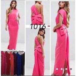 Vestido largo lazo espalda - Selected by AINE