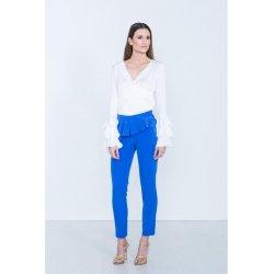 Pantalon liso pitillo volante - Selected by AINE