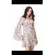 Vestido asimetrico flores - Selected by AINE