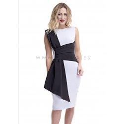 Vestido combinado - Selected by AINE