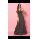 Vestido largo cuello halter - Selected by AINE