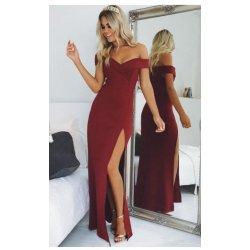 Vestido largo escote V - Selected by AINE