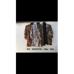 Americana estampado piton leopardo - Selected by AINE