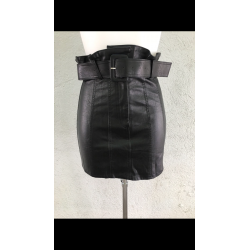 Mini falda polipiel - Selected by AINE