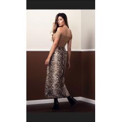 Falda estampada serpiente - Selected by AINE