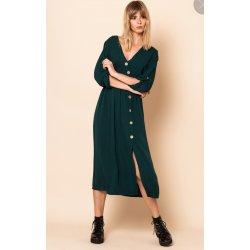 Vestido largo botones cruzado - Selected by AINE