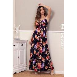 Vestido largo estampado flores - Selected by AINE